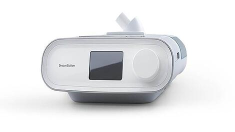 Front View of the Philips Dreamstation